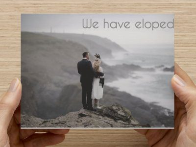 Elopement Card